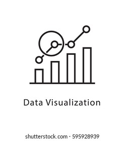Data Visualization Vector Line Icon