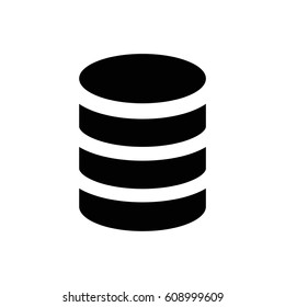 Database digital icon