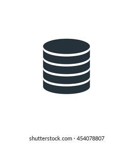 Database icon, Vector