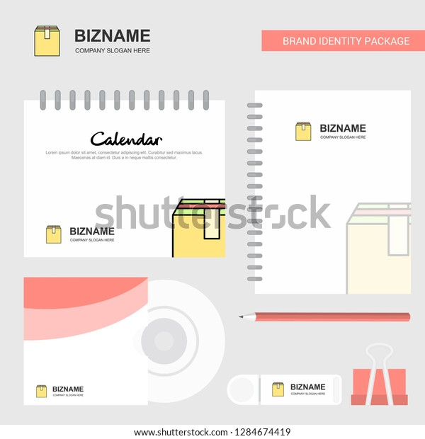 Database Logo Calendar Template Cd Cover Stock Vector (Royalty Free