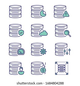 Database and Database Management System (DBMS) is the software that interacts with end users, applications, and the database itself to capture and analyze the data.