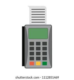 Dataphone with bill