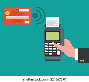 dataphone credit card pay shopping online