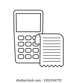 dataphone device with voucher