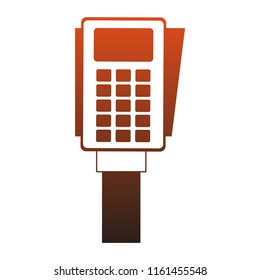 Dataphone electronic payment red lines