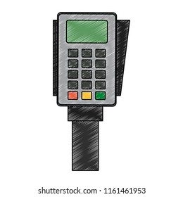 Dataphone electronic payment scribble