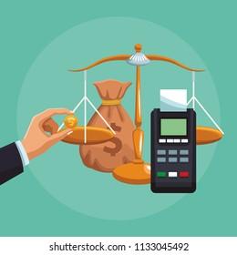Dataphone electronic transaction