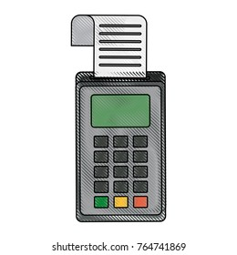 Dataphone eletronic money device