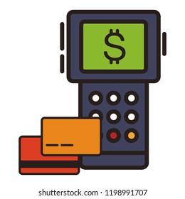 Dataphone payment symbol
