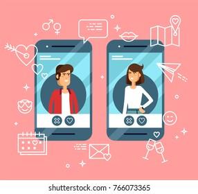 Dating applikationer för mobil dating