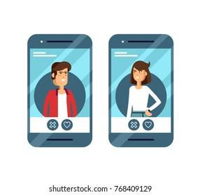 Dating site app ikoner