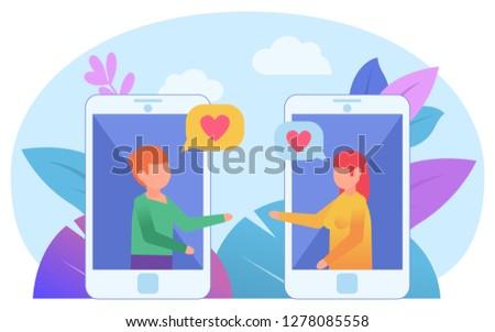Dating-Website und Chat