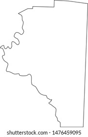 Davidson County map in the State of North Carolina