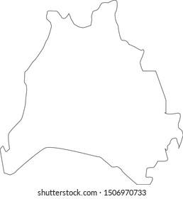 davidson  County map in Tennessee state
