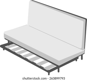 Day bed for relax in the room