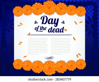 Day of the Dead - Copy Space Horizontal