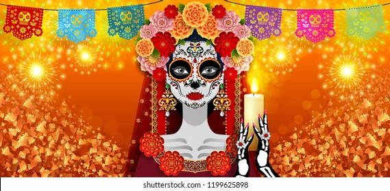 1000 Catrina Tattoo Pictures Royalty Free Images Stock Photos