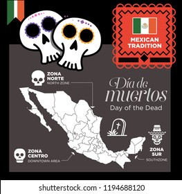 Day of the dead, Mexican tradition.