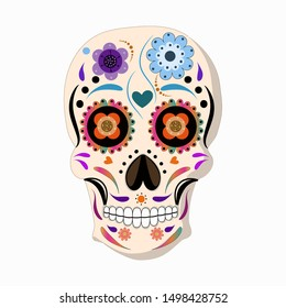 Day of the dead Mexico - Catrina. Mexican Holiday, Festival.