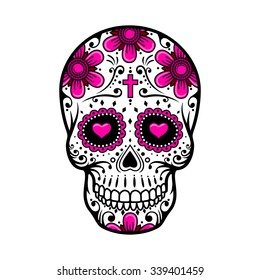 Sugar Skull Images Stock Photos Vectors Shutterstock
