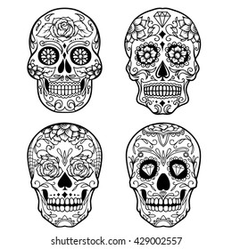 Sugar Skull Designs Images Stock Photos Vectors Shutterstock