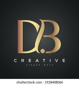 DB creative luxury letter logo