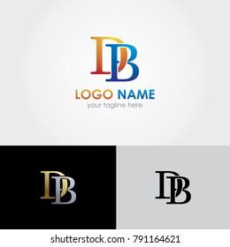 DB Letter Design - Initials Logo - Best Logo Design