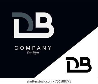 DB Letter Logo Design Template