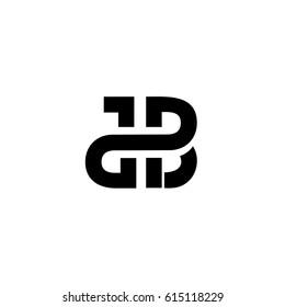 db letter vetor logo