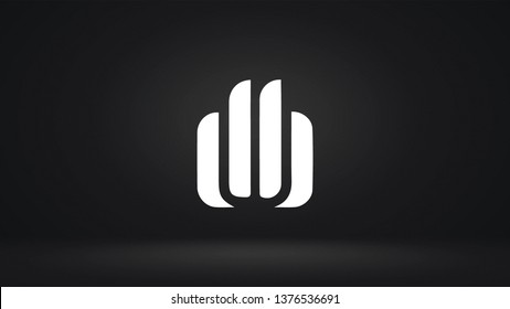 DB logo design template vector letter