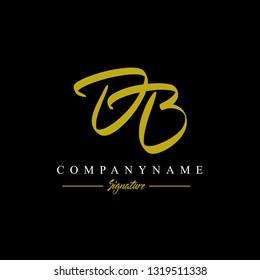 DB logo. Letter Logo Design