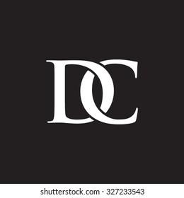 DC chain letter black background