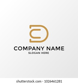 DC Logo Template
