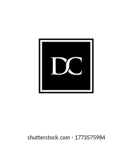 DC VECTOR LOGO, FOR COMPANY TECHNOLOGY, FINANCE, HOUSING, HOTELS.