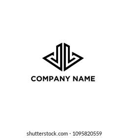 DD letter concept logo vector