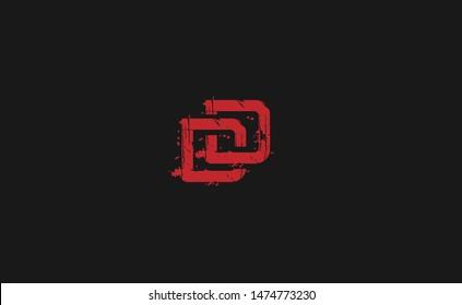 DD Letter Logo, Icon, Vector element design vintage
