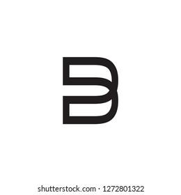 dd letter vector logo. b letter vector logo