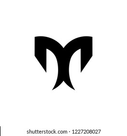 dd letter vector logo. m letter vector logo
