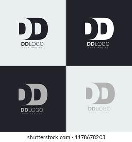 dd letters logo