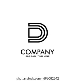 d/dd logo vector black color