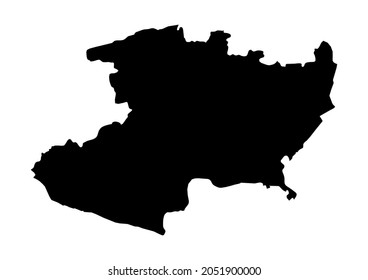 Michoacán-Estado de Michoacan de Ocampo-Mexico map, fully editable detailed vector map of Michoacán-Estado de Michoacan de Ocampo-Mexico . The file is suitable for editing and printing of all sizes.