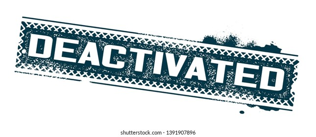 Deactivated Images, Stock Photos & Vectors | Shutterstock