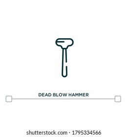 Dead Blow Hammer Images Stock Photos Vectors Shutterstock It's design helps isolate the user from striking impact and also helps reduce fatigue. https www shutterstock com image vector dead blow hammer vector line icon 1795334566