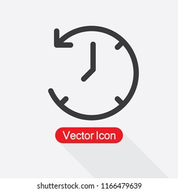 Deadline Icon, Clock Icon, Time Icon Vector Illustration Eps10