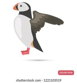 Deadlock sea bird color flat icon