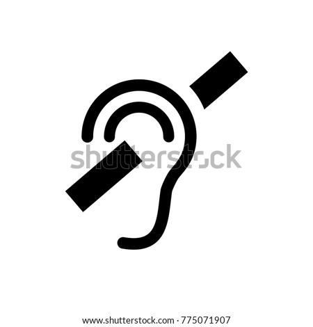 Deaf - Free medical icons |Deaf Icon Moth