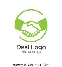 Deal People Logo Template Design Vector