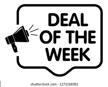 Deal of The Week Announcement