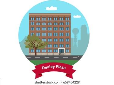 Dealey Plaza Landmark, DALLAS, TEXAS, USA