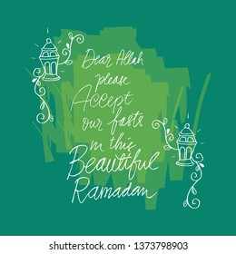 ramadan quote stock illustrations images vectors shutterstock